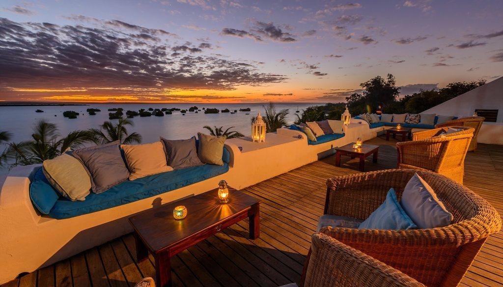 Sky Bar, Ibo Island Lodge