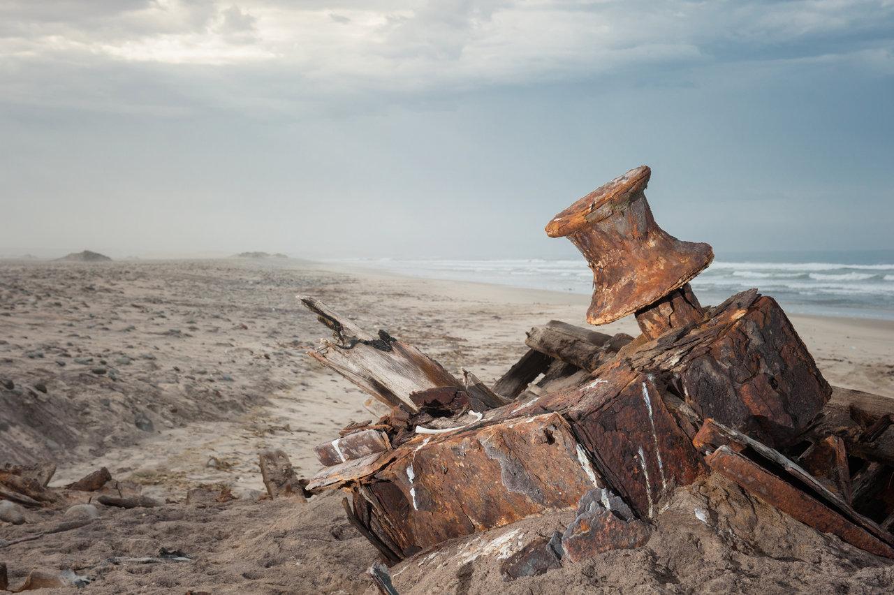Skeleton Coast, shipwreck
