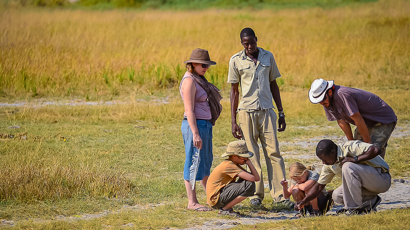 Botswana family safari5