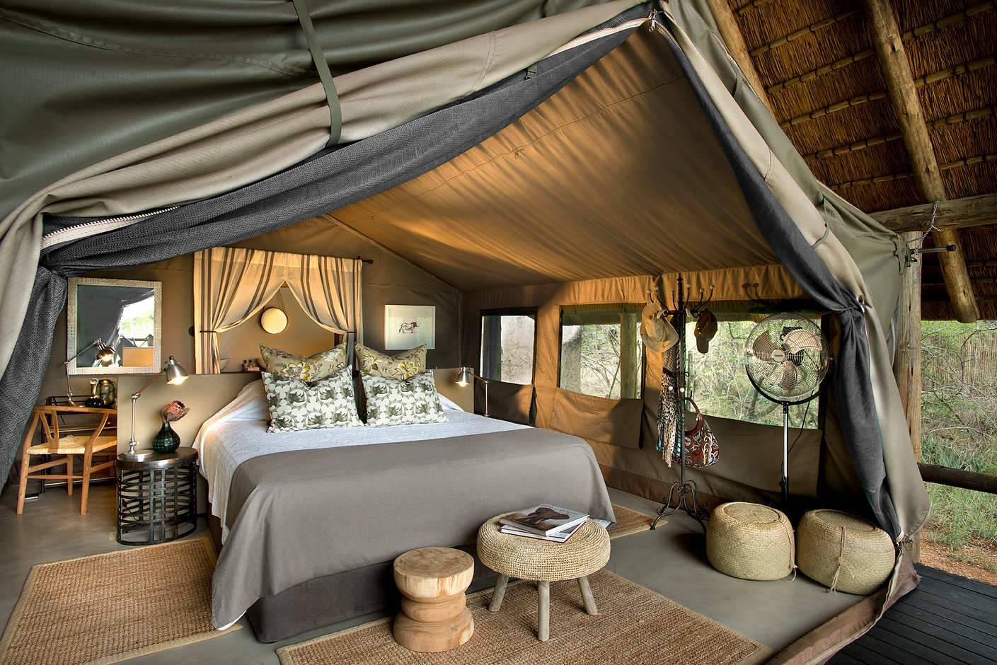 Tanda Tula, luxury tent
