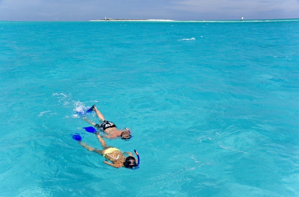 Anantara Medjumbe snorkelling