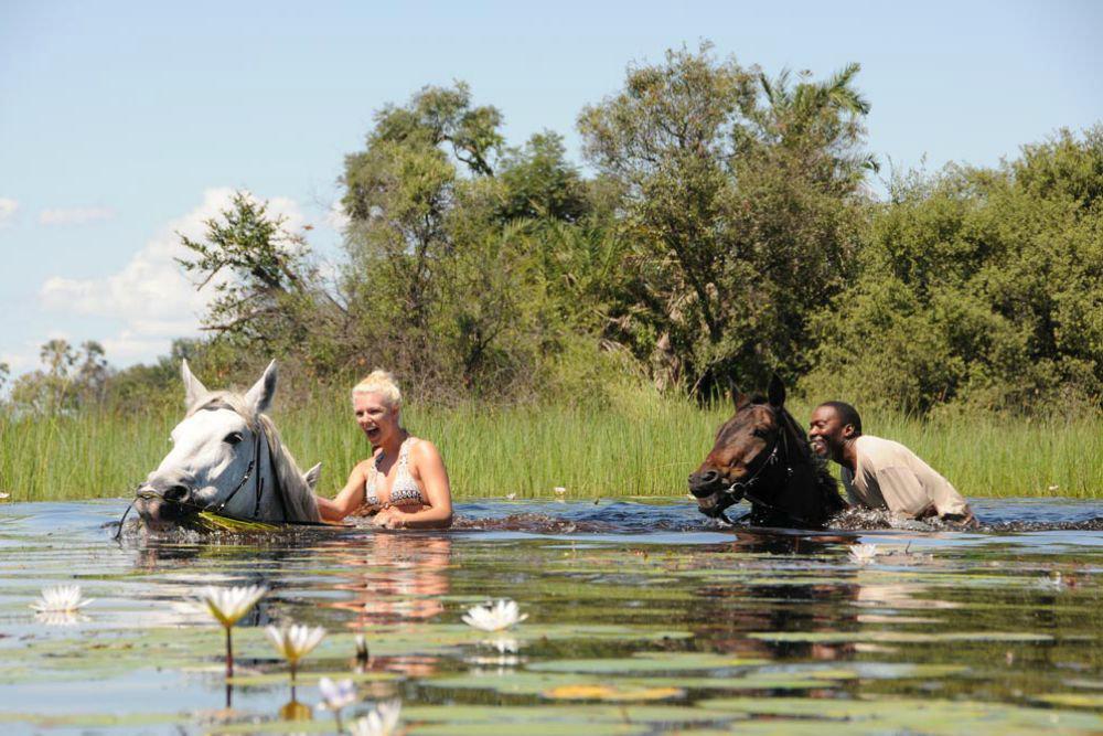 Horseback safari okavango delta botswana3