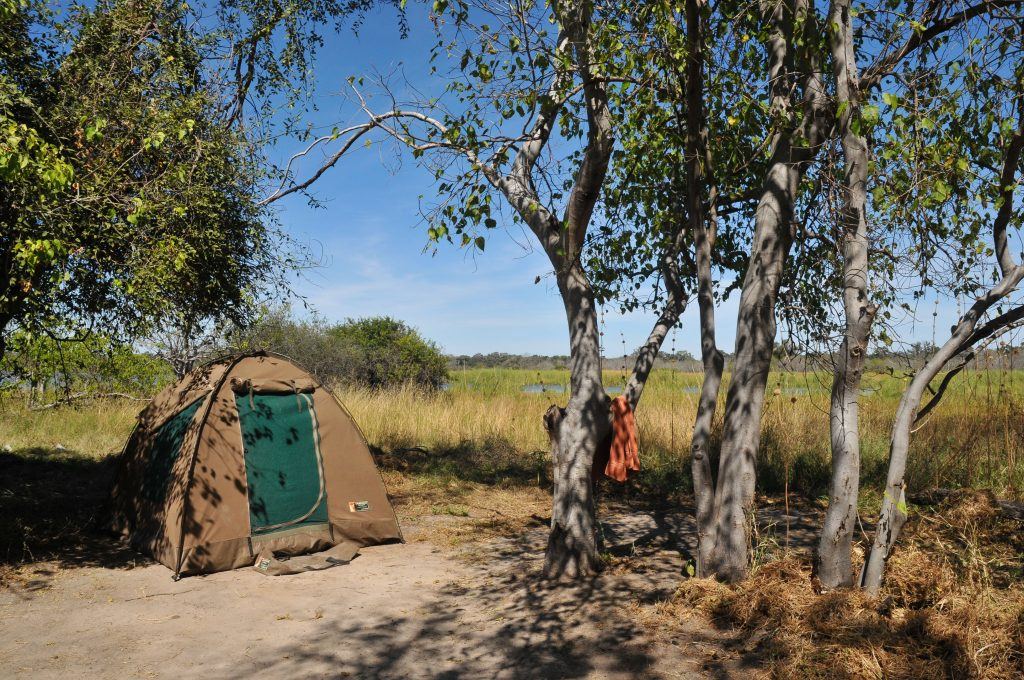 Made in Africa Tours - Botswana Camping Safari - Moremi camping