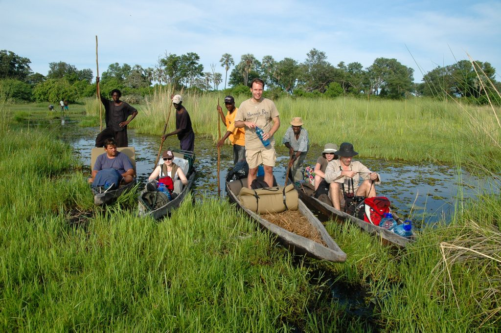 Made in Africa Tours - Botswana Camping Safari - Okavango Delta mokoro excursion