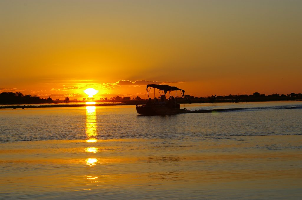 Made in Africa Tours & Safaris - Botswana Family Lodge Safari - Chobe Savanna Lodge Sunset