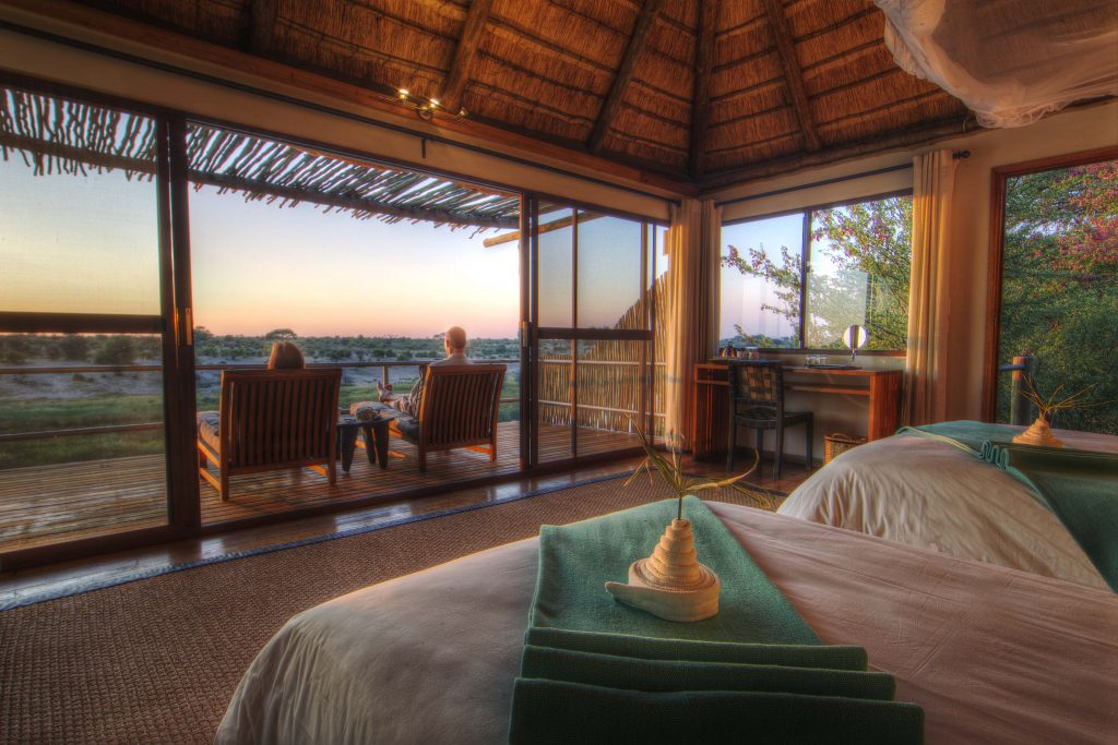 Made in Africa Tours & Safaris - Botswana Family Lodge Safari - Leroo La Tau room with a view