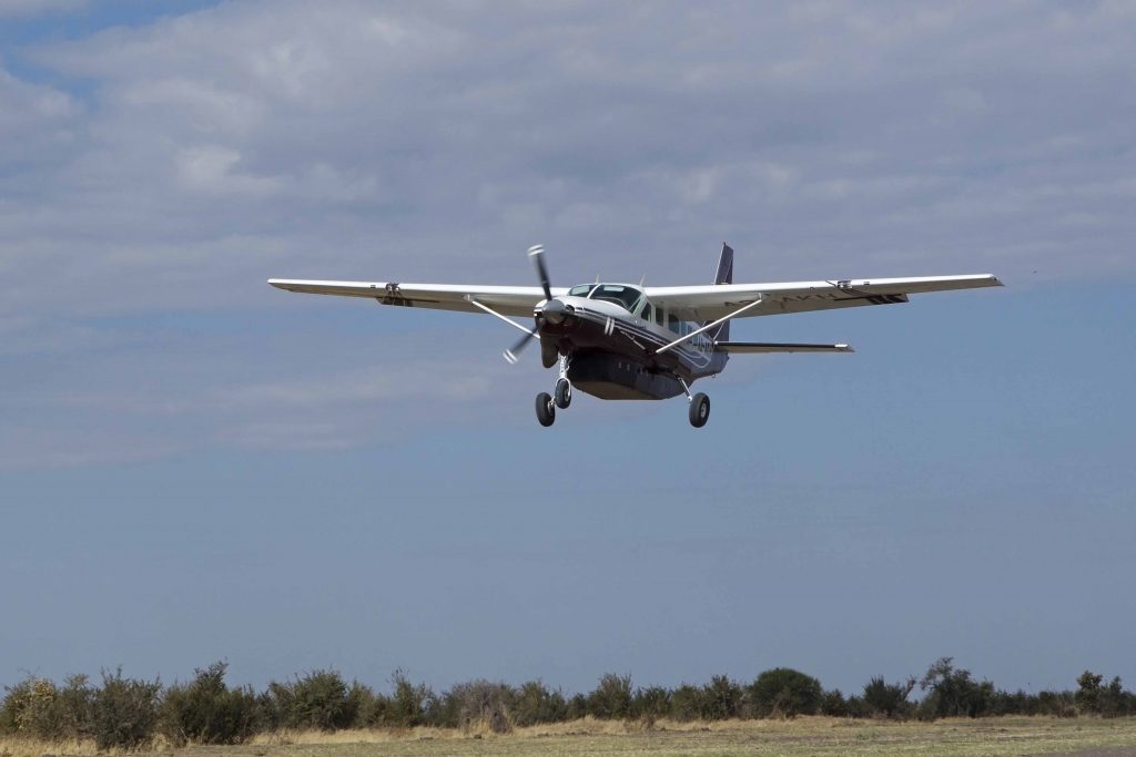 Made in Africa Tours & Safaris - Botswana Family Lodge Safari - Light Aircraft Transfer