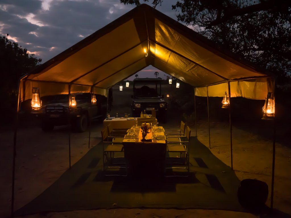 Made in Africa Tours & Safaris - Botswana Highlights Luxury Camping Safari - Dinner Tent