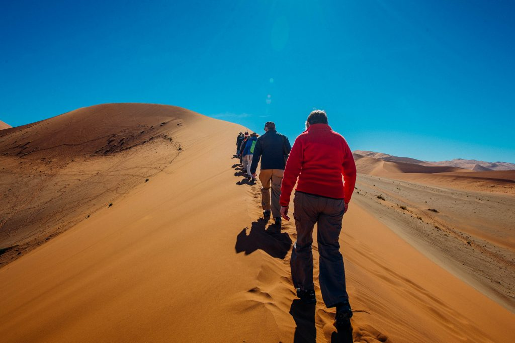Made in Africa Tours & Safaris - Cape to Vic Falls Exploration - Namib Desert, Dune Walk