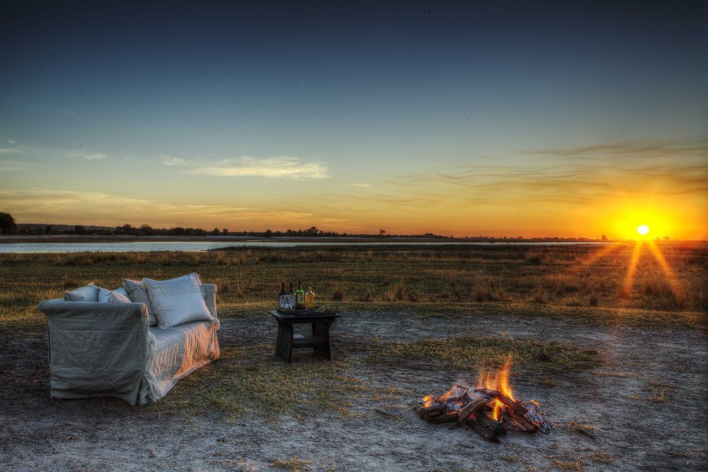 Made in Africa Tours & Safaris - Chobe Savanna Lodge sundowners