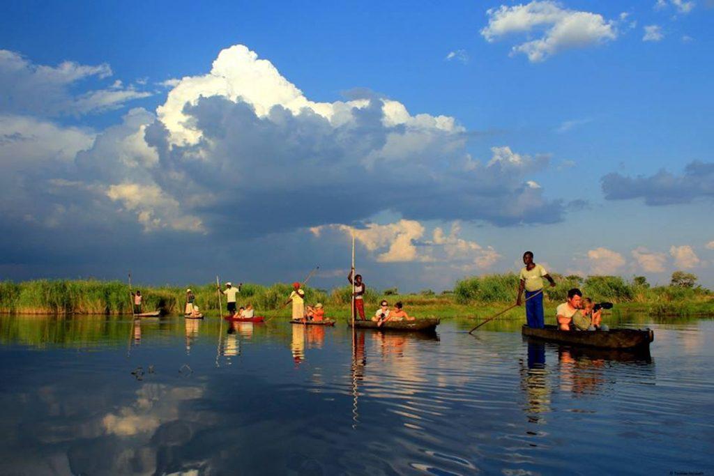 Made in Africa Tours & Safaris - Namibia & Botswana Circular Safari - Okavango Delta Mokro Excursion
