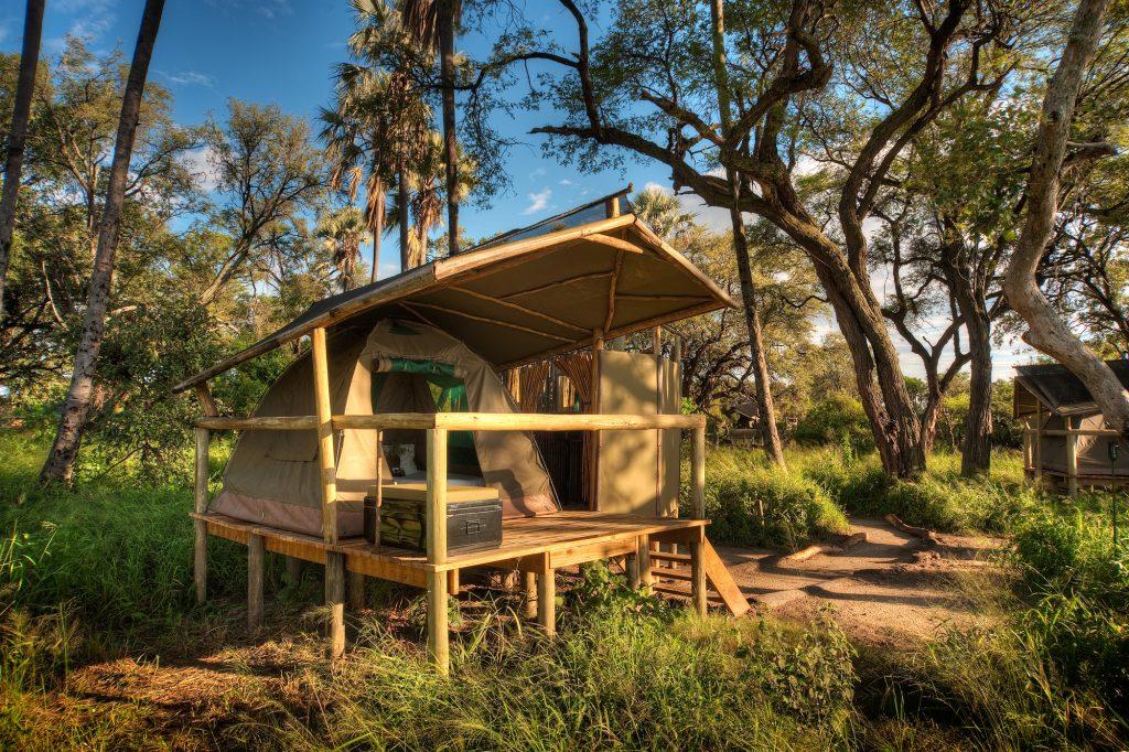 Oddballs' Camp - Tent Exterior