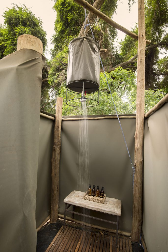 Parfuri Trails Camp Shower