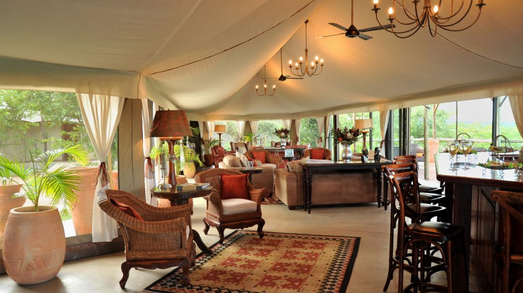 THE ELEPHANT CAMP MAIN LODGE INT