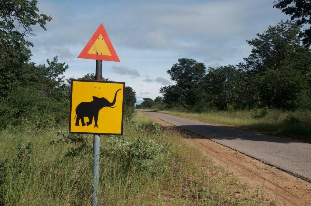 Zimbabwe road sign - Zimbabwe & Botswana Budget Lodge Safari