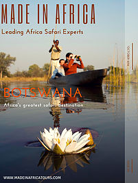 Botswana travel guide free e-magazine