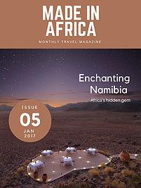 Namibia travel guide free e-magazine