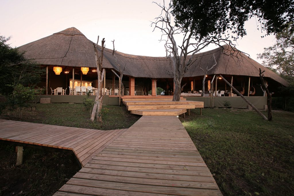 Made in Africa Tours & Safaris - Zimbabwe Luxury Yoga Safari - Vic Falls River Lodge Walkway