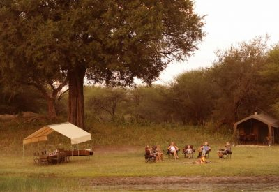 Affordable budget safari, camping Botswana