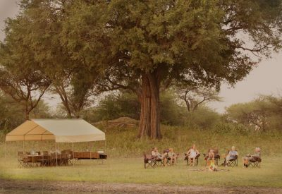 Bostwana mobile safari camping