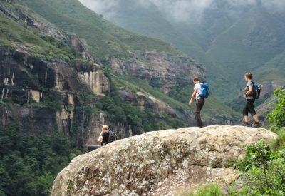 Walking safari South Africa Drakensberg
