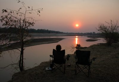 South Luangwa Zambia safari sunset