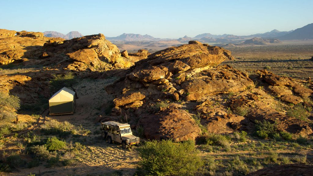 Damaraland Adventure Camp Landscape - Namibia Exploration