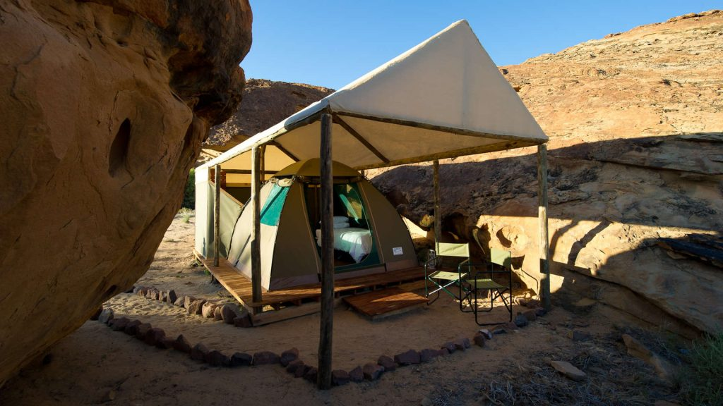 Damaraland Adventure Camp Tent - Namibia Exploration