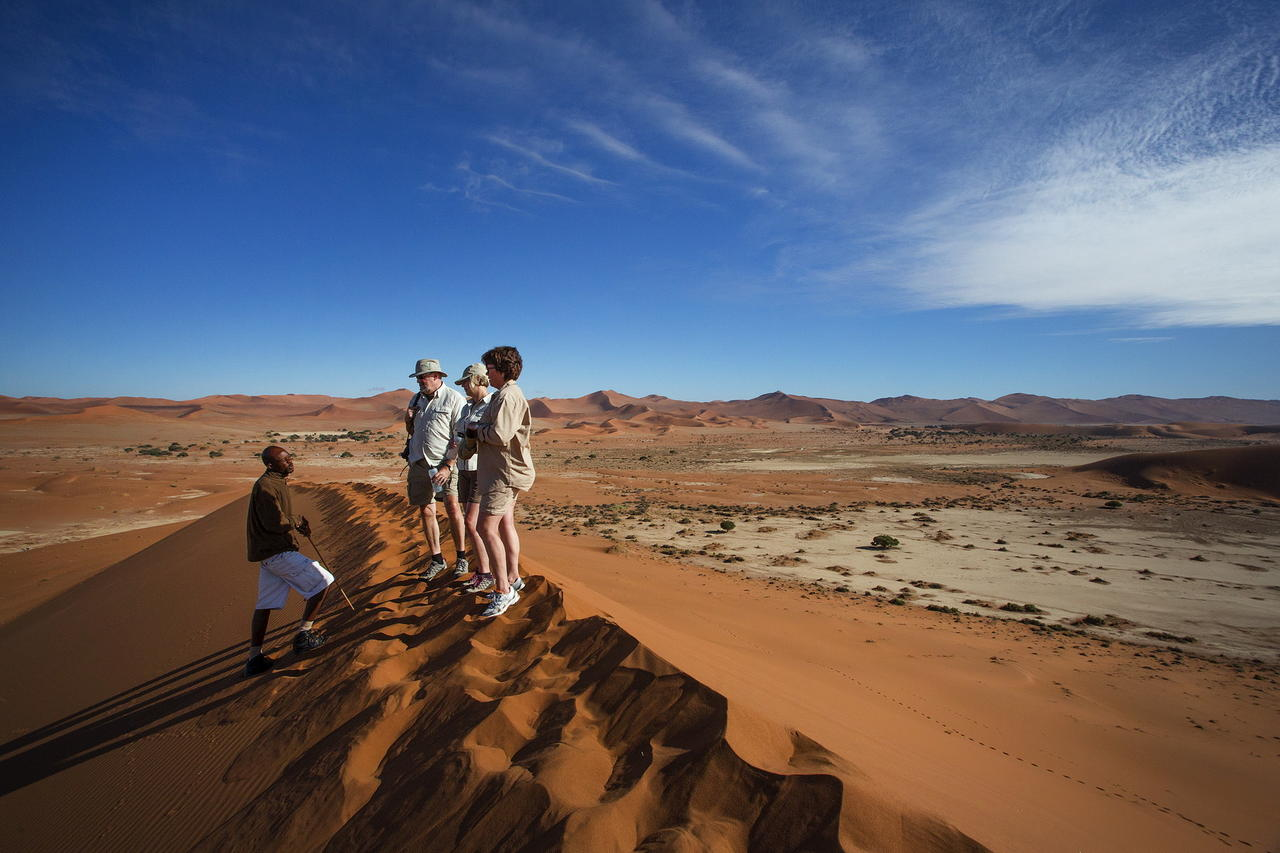 Dune Hike - Namibia Exploration