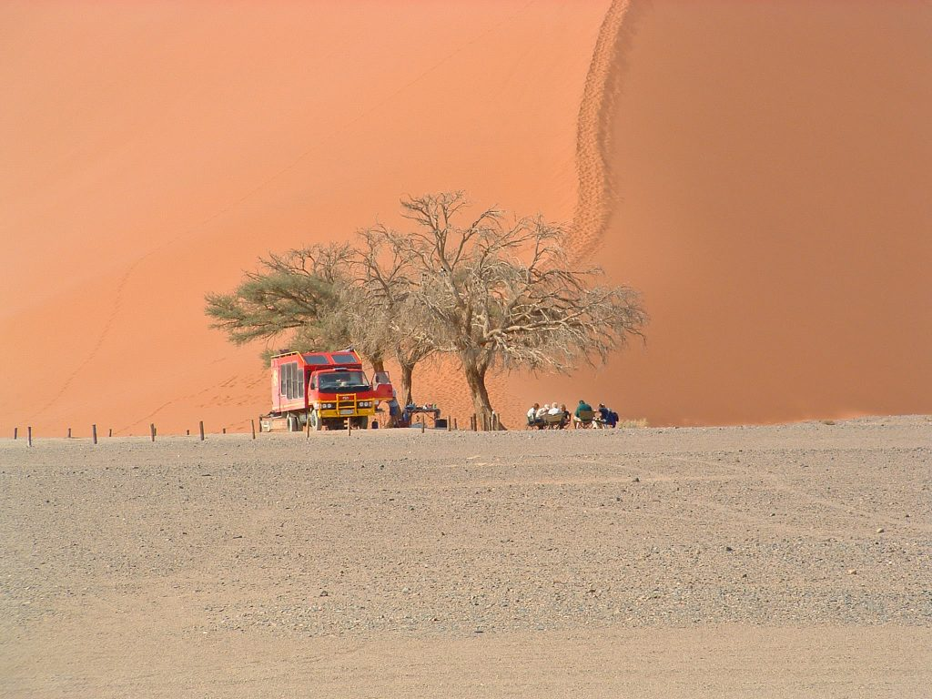 Namib Desert - Cape to Vic Falls Adventure Safari