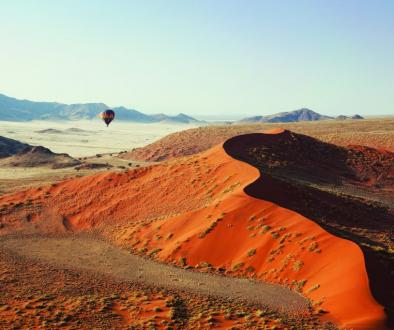 Namibia hot air balloon, Sossusvlei