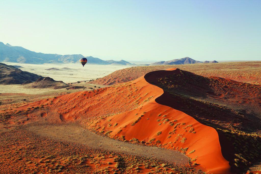 Soussvlei Hot Air Ballon - Namibia Desert Safari