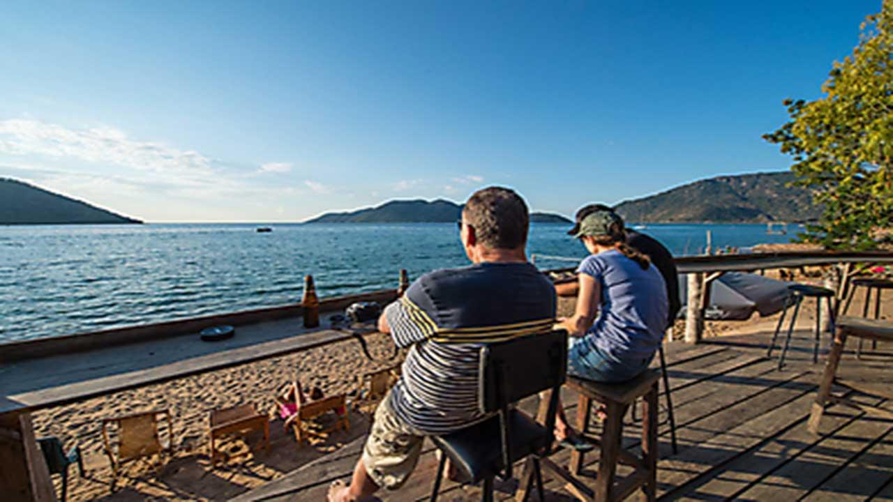 Zambia & Malawi Exploration - Lake Malawi Bar Deck