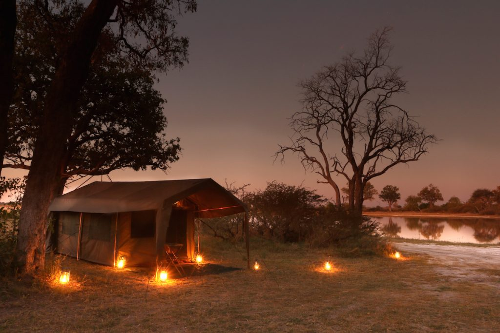 game drive, classic botswana safari