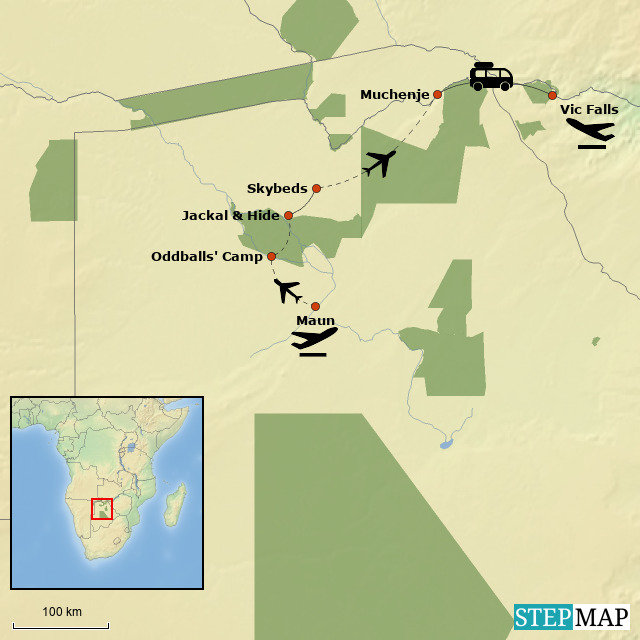 Botswana Private Reserve Lodge Safari
