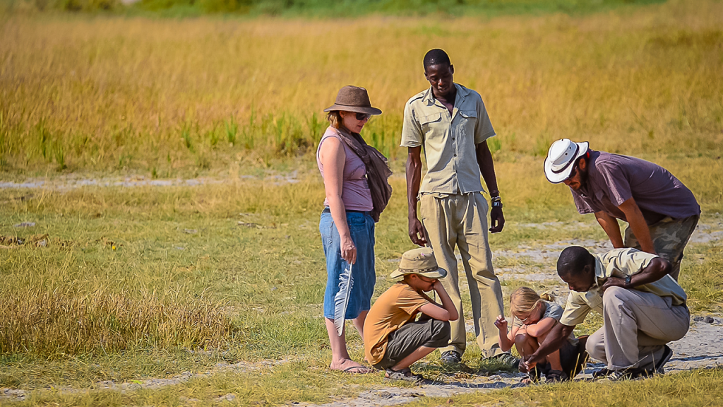 Botswana-Family-Adventure-Safari---Guided-Family-Bush-Walk