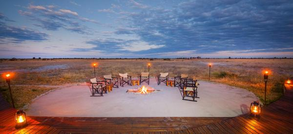 Nxai-Pan-Camp-Firepit---Made-in-Africa-privately-hosted-Botswana-Safari